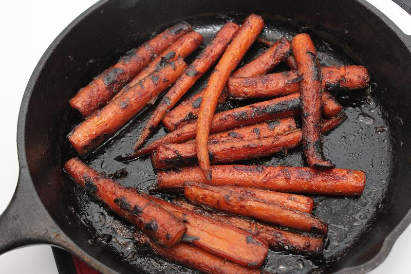 Citrus Maple Roasted Carrots