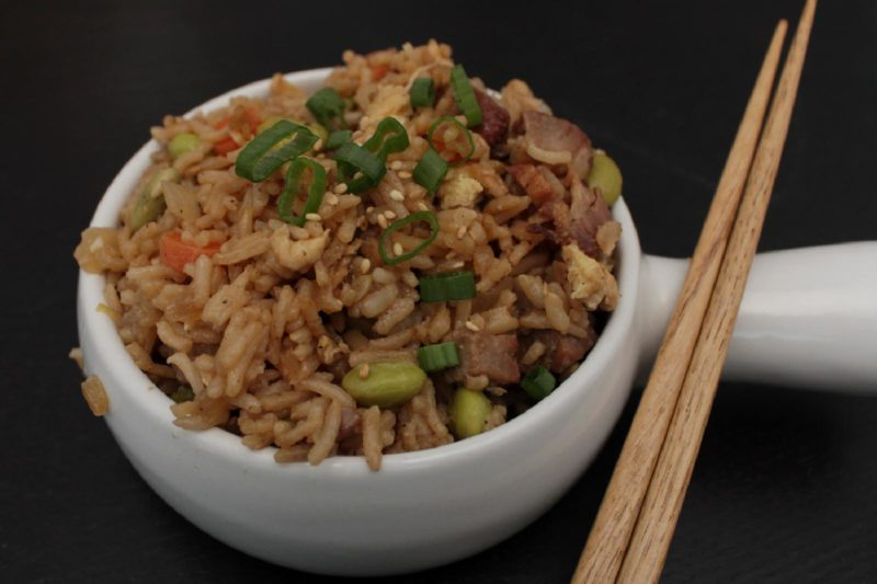 Classic Pork Fried Rice | healthy recipes | asian recipes | BearandBugEats.com