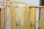Handmade Fettucine with Herbs is a simple recipe that makes fabulously fresh pasta at home! Make for dinner or make ahead! | vegetarian recipes | pasta recipes | BearandBugEats.com