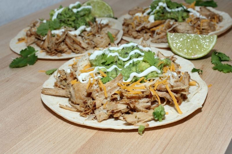 Mojo Pork Tacos made with savory slow cooked pork! Easy, simple, and perfectly delicious.