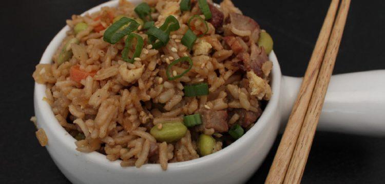 Classic Pork Fried Rice | healthy recipes | asian recipes | BearandBugEats.com