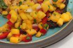Perfect Mango Salsa | salsa recipes | texmex recipes | vegetarian vegan recipes | BearandBugEats.com