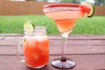 Watermelon Cocktails: Watermelon Rosé Margarita and Watermelon Sling | cocktail recipes | watermelon recipes | BearandBugEats.com