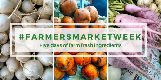 #FarmersMarketWeek features dozens of recipes made with the freshest seasonal ingredients! | BearandBugEats.com