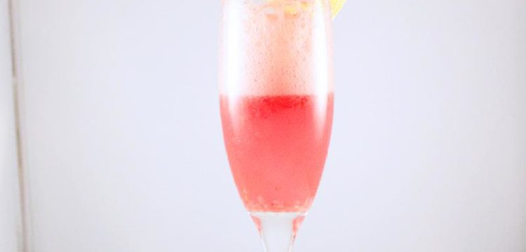 Sparkling Cranberry Sangria with garnishes | BearandBugEats.com