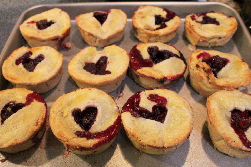 Mixed Berry Mini Pies