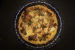 No-Recipe Quiche with Potato Crust